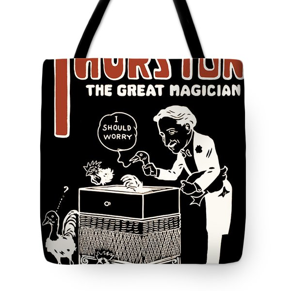 Thurston And The Wonder Show Tote Bag by Jennifer Rondinelli Reilly - Fine Art Photography