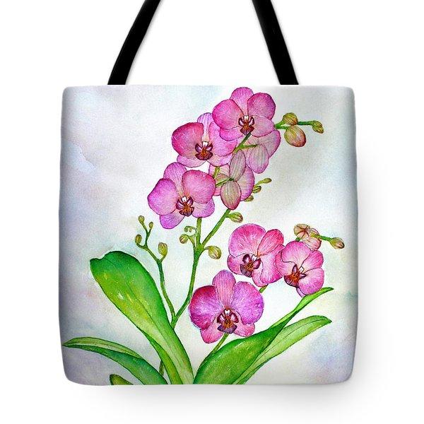 Ti Amo Orchid Tote Bag