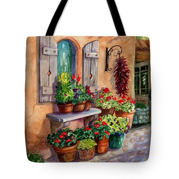 Tia Rosa's Place Tote Bag