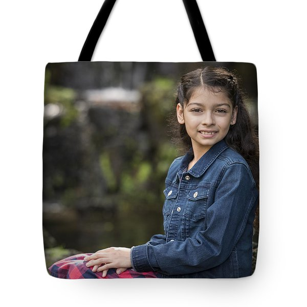 Tiana Tote Bag by Lori Grimmett