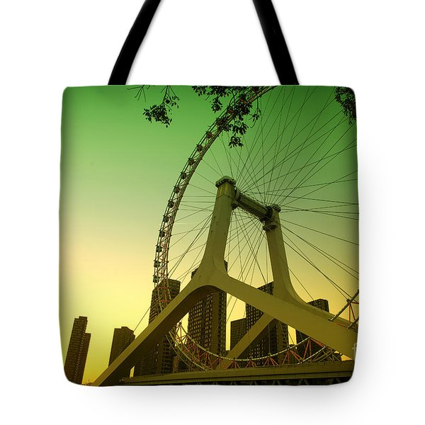 Tianjin Eye  Tote Bag