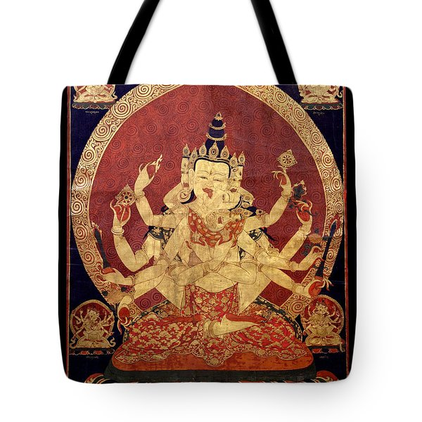 Tibetan Art Tote Bag