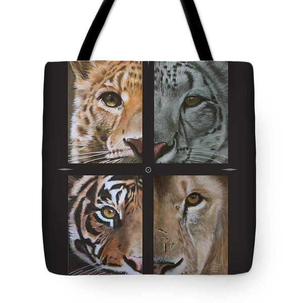 Tick Tock Tote Bag by Jill Parry