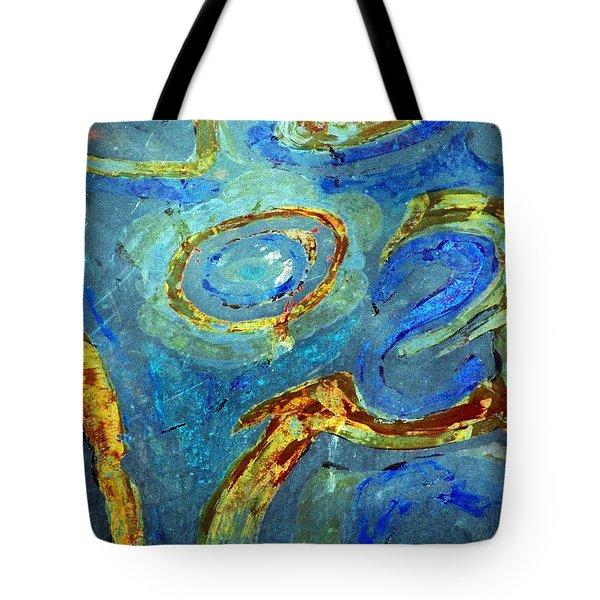 Tickled Tote Bag by Leanna Lomanski