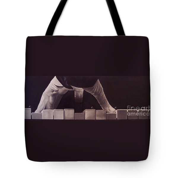 Tickling The Ivory Too Tote Bag