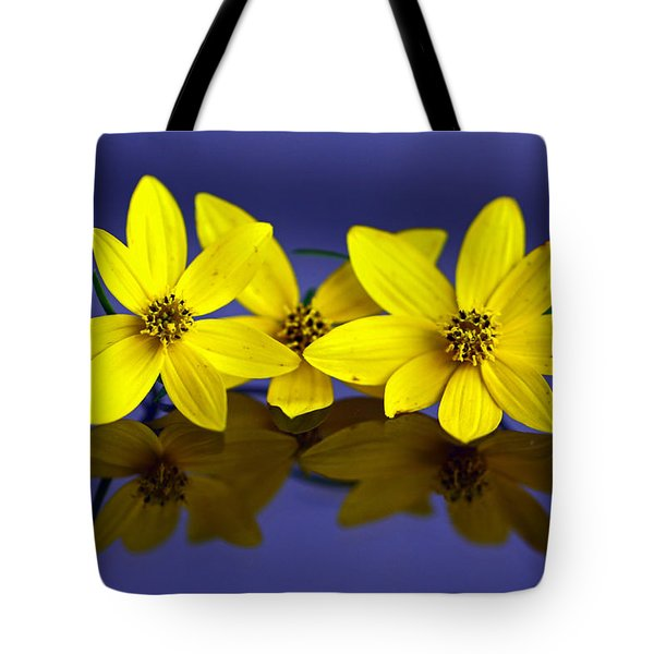 Tickseed Trio Tote Bag
