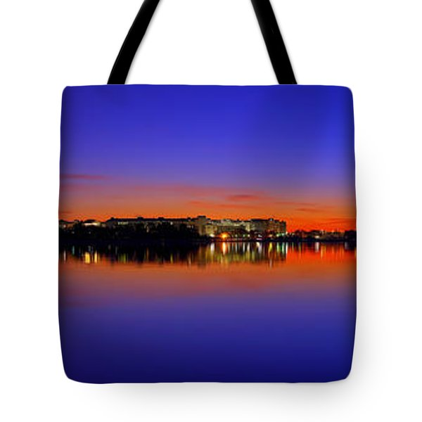 Tidal Basin Sunrise Tote Bag