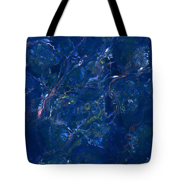 Tidal Drift Tote Bag