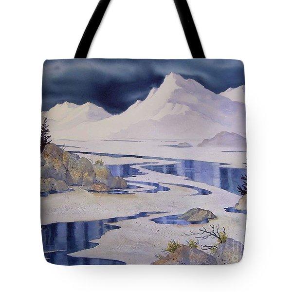 Tidal Patterns Iv Tote Bag