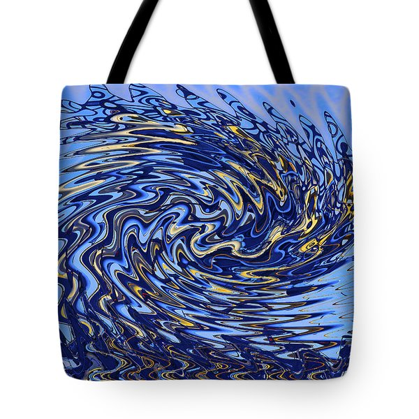 Tote Bag featuring the photograph Tidal Wave by Gary Holmes