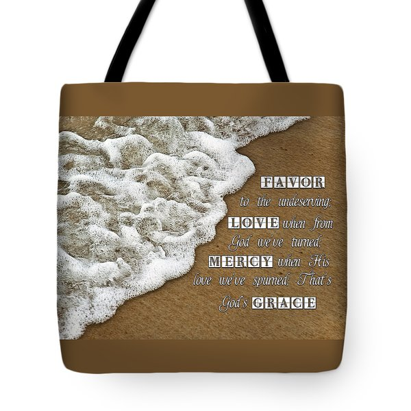 Tide Of Encouragement Tote Bag by Carolyn Marshall