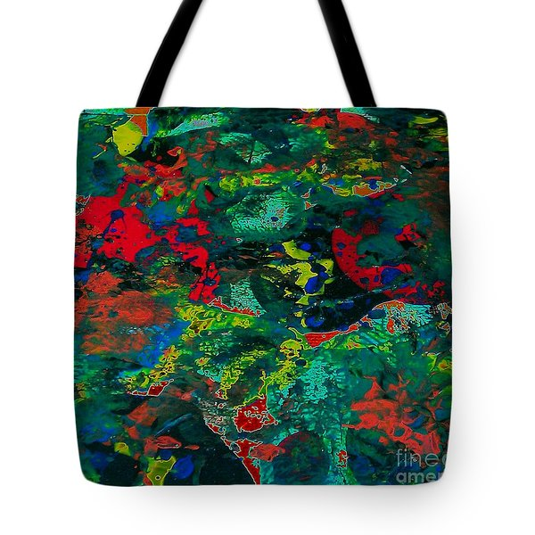 Tote Bag featuring the painting Tide Pool by Jacqueline McReynolds