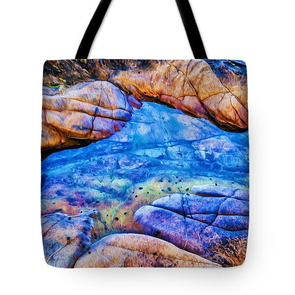 Tide Pool Tote Bag