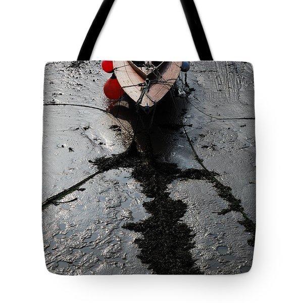 Tote Bag featuring the photograph Tide's Out 1 by Wendy Wilton