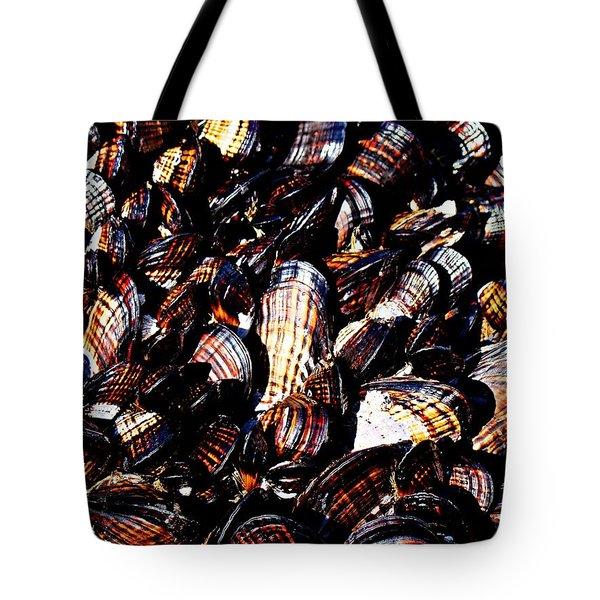 Tidewater Mussels Tote Bag