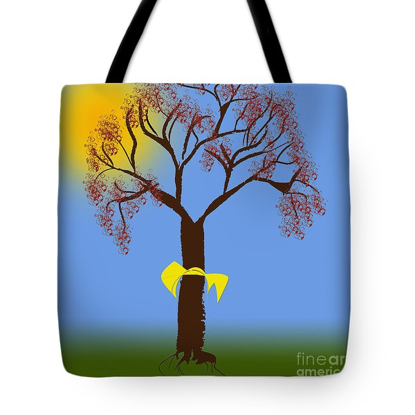 Tie A Yellow Ribbon Round The Ole Oak Tree 2 Tote Bag