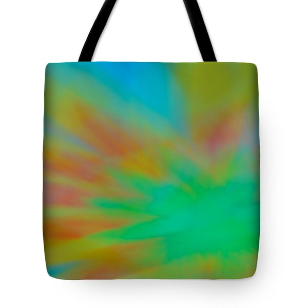 Tie Dye Abstract Tote Bag