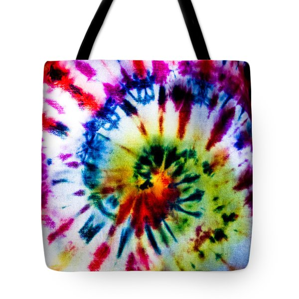 Tie Dyed T-shirt Tote Bag by Cheryl Baxter