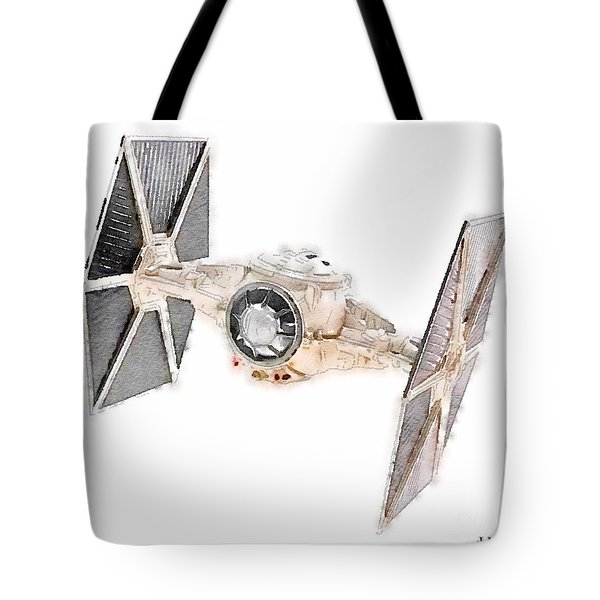 Tie Fighter Tote Bag