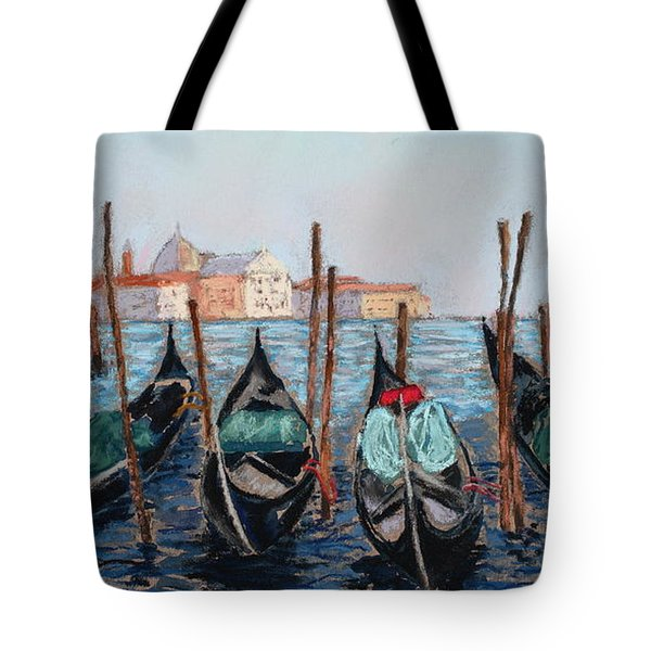 Tied Up In Venice Tote Bag