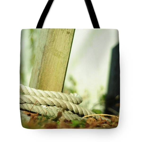 Tote Bag featuring the photograph Ties by Rebecca Sherman