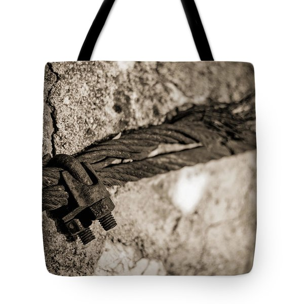 Tote Bag featuring the photograph Ties That Bind by Amber Kresge