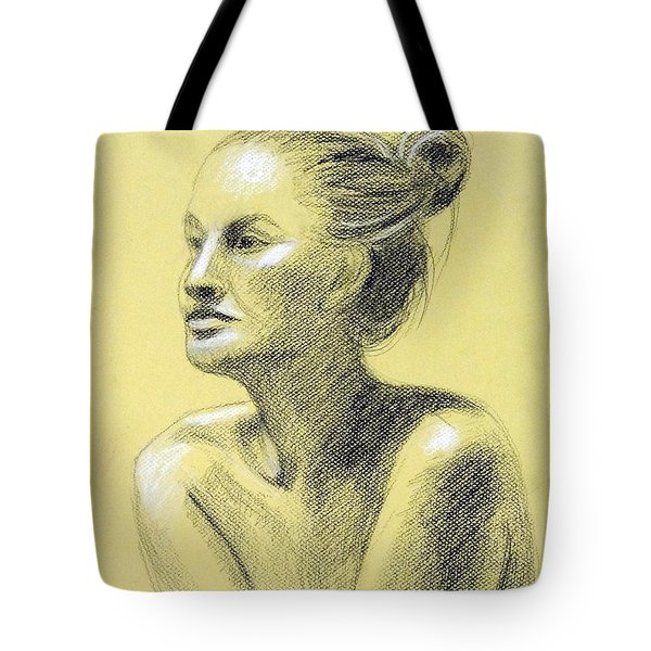 Tiffany Portrait Tote Bag