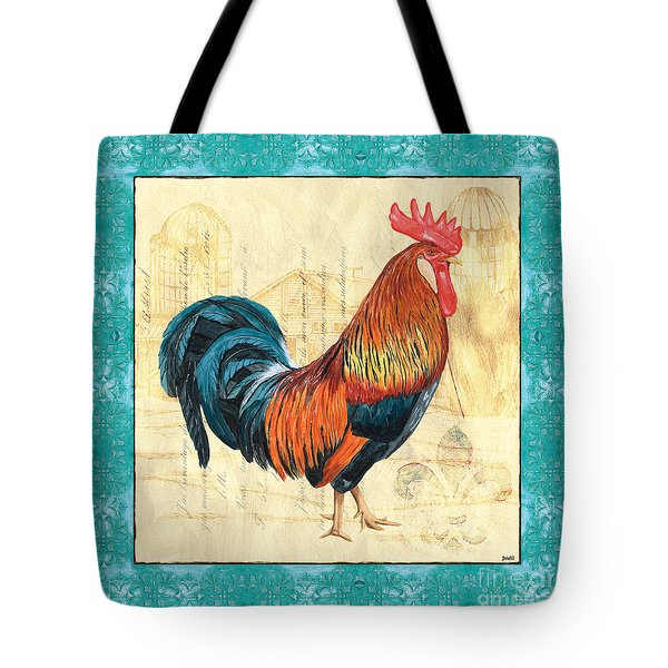 Tiffany Rooster 1 Tote Bag
