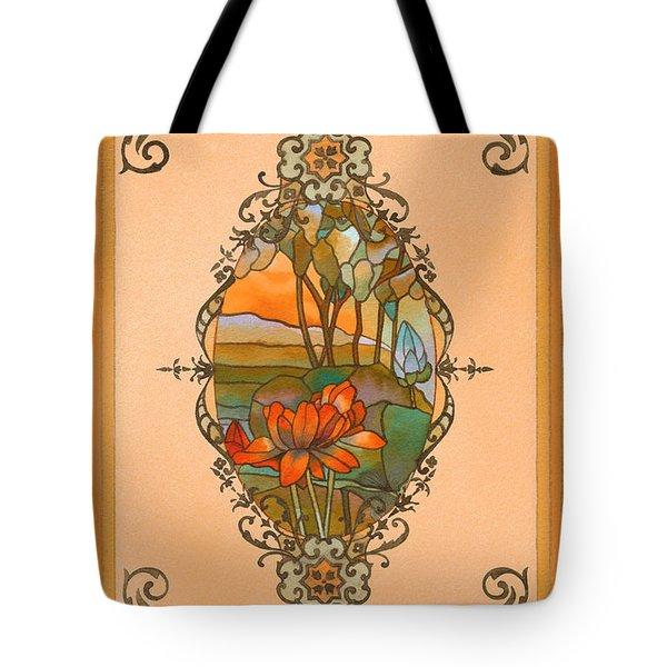 Tiffany Tree Tote Bag