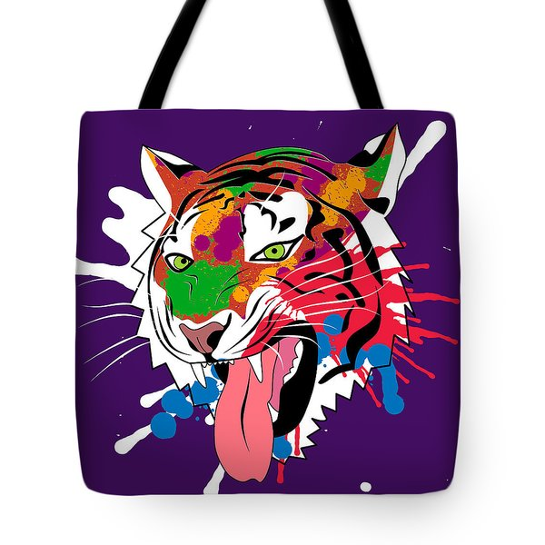 Tiger 11 Tote Bag by Mark Ashkenazi