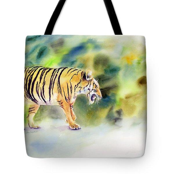 Tiger Tote Bag by Amy Kirkpatrick