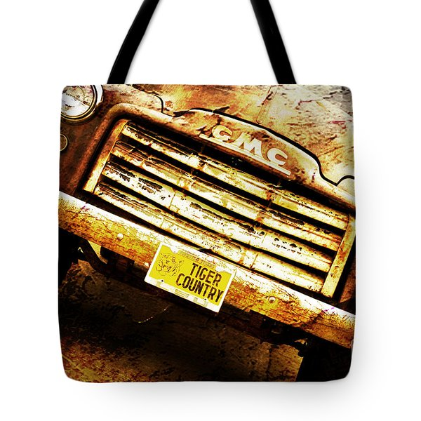 Tiger Country Old School Tote Bag by Scott Pellegrin