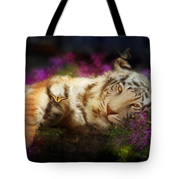 Tiger Dreams Tote Bag by Aimee Stewart