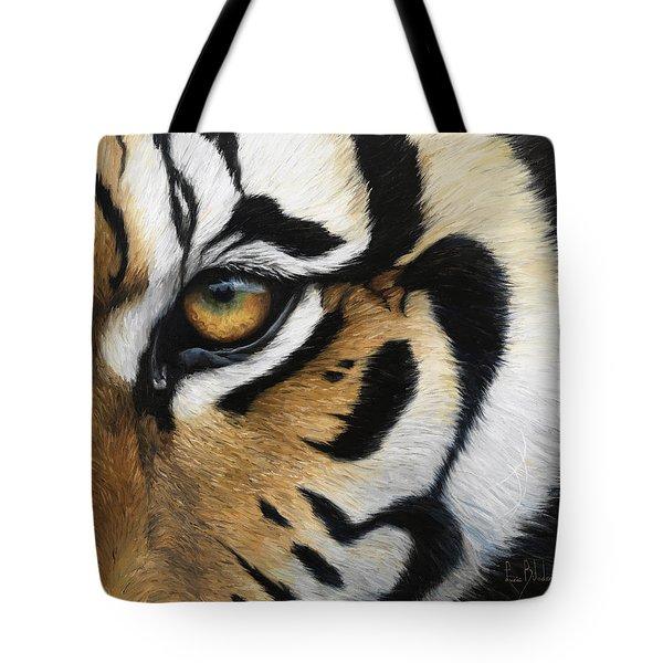 Tiger Eye Tote Bag