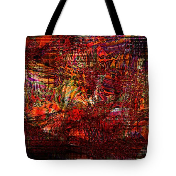 Tiger Glass Tote Bag