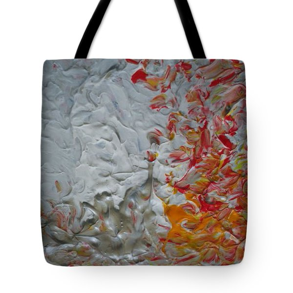 Tiger Lilies On The Moon Tote Bag