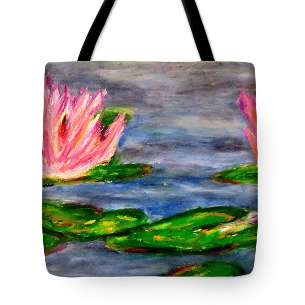 Tiger Lillies Tote Bag by Daniel Dubinsky