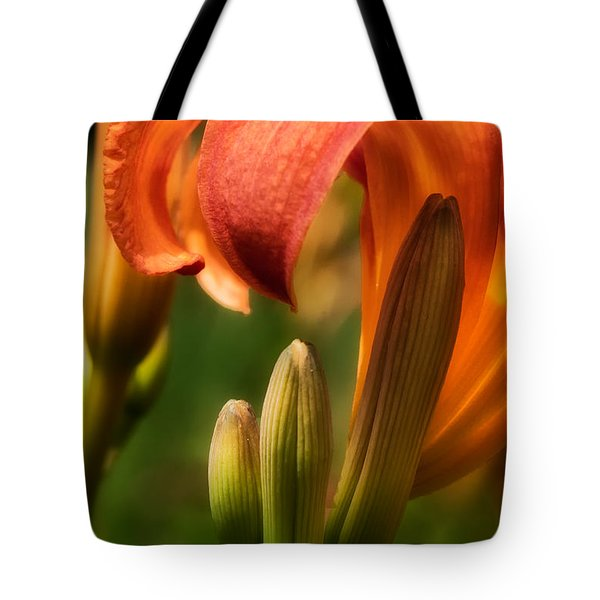 Tiger Lilly Tote Bag by Bill Wakeley