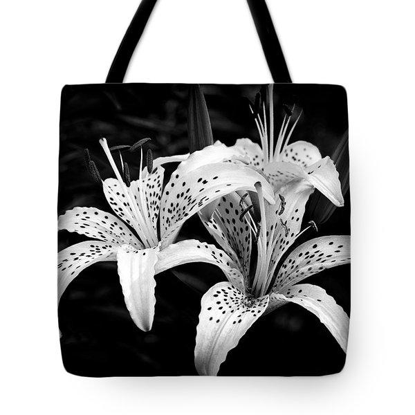 Tiger Lily I Tote Bag by Jeff Burton