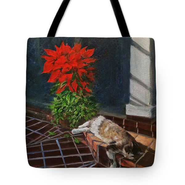 Tiger Lily In Repose Tote Bag