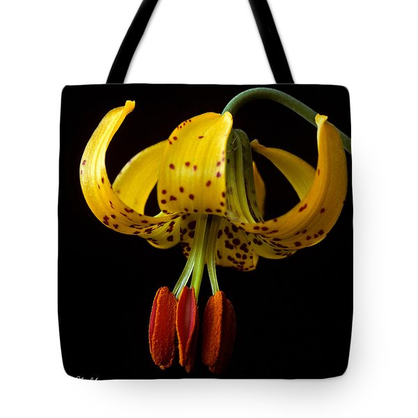 Tote Bag featuring the photograph Tiger Lily by Jeff Goulden