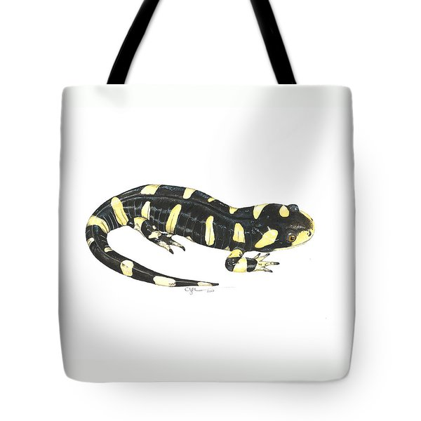 Tiger Salamander Tote Bag