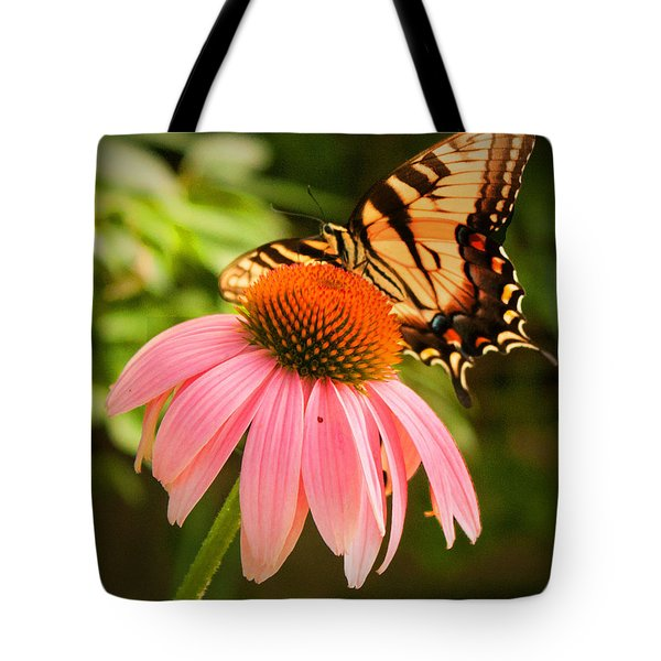 Tiger Swallowtail Feeding Tote Bag