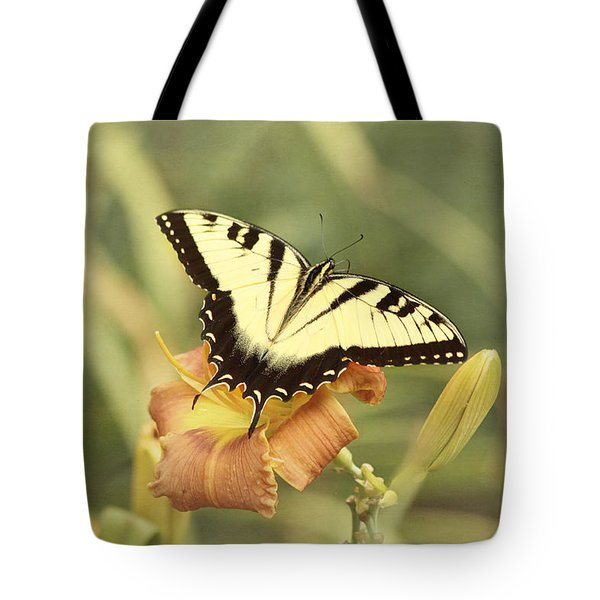 Tiger Swallowtail Tote Bag by Kim Hojnacki