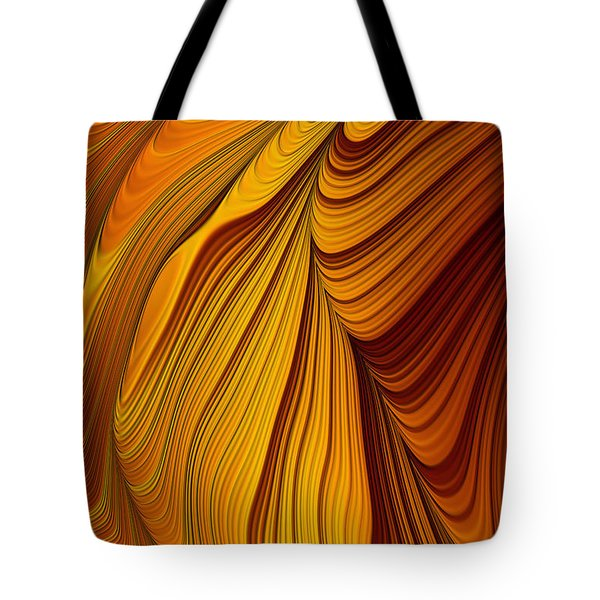 Tiger's Eye Tote Bag