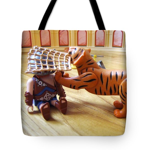 Tiger's Revenge Tote Bag