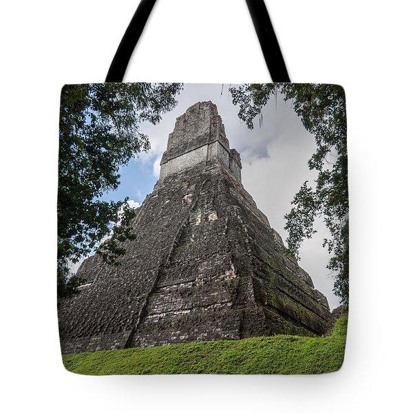 Tikal Pyramid 1b Tote Bag