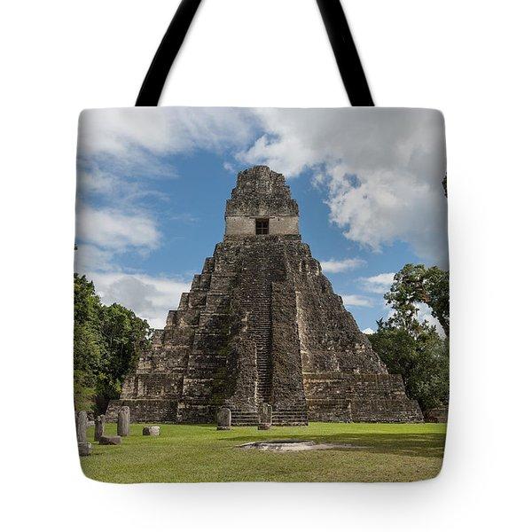 Tikal Pyramid 1j Tote Bag