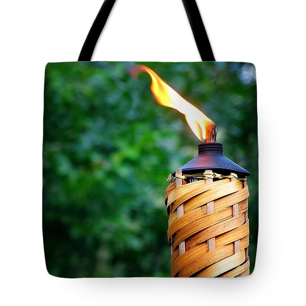 Tote Bag featuring the photograph Tiki Time by Greg Simmons