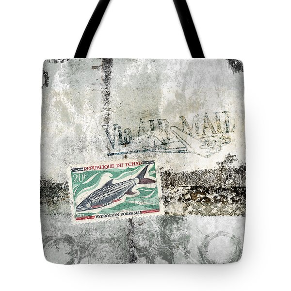 Tilapia Air Mail Tote Bag